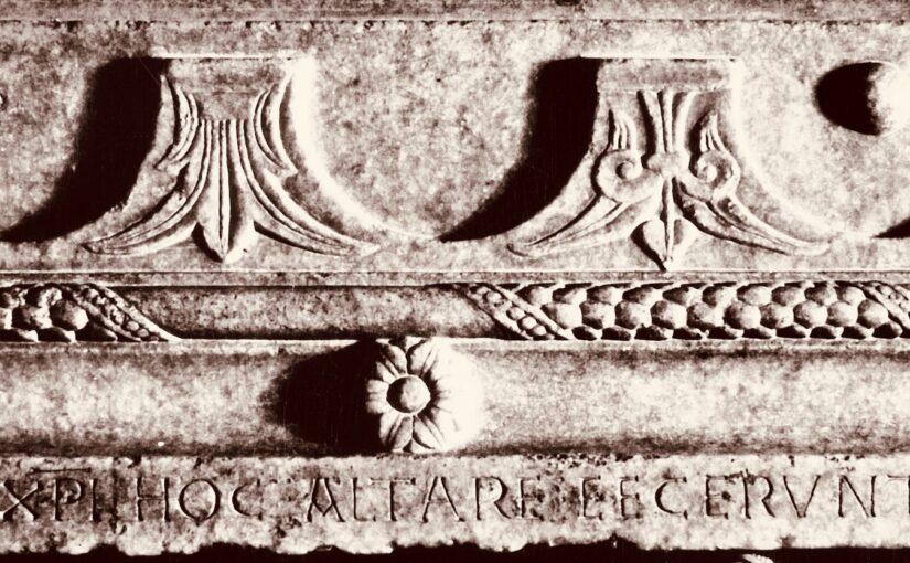 Écrire/décrire l'autel chrétien